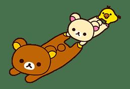 Rilakkuma's Lazy Life sticker #694011