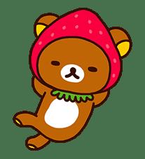 Rilakkuma's Lazy Life sticker #694012