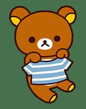 Rilakkuma's Lazy Life sticker #694013