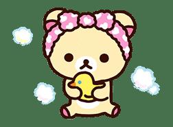 Rilakkuma's Lazy Life sticker #694014