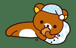 Rilakkuma's Lazy Life sticker #694015