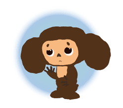 Cheburashka: Animated Stickers sticker #1696082