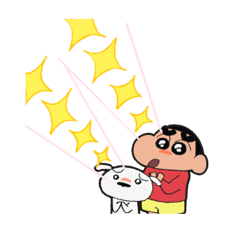 Get Up and Move, Crayon Shin-chan! sticker #2040297
