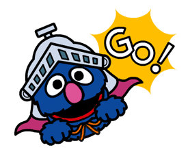 Sesame Street Animated Stickers sticker #2719096