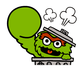 Sesame Street Animated Stickers sticker #2719098