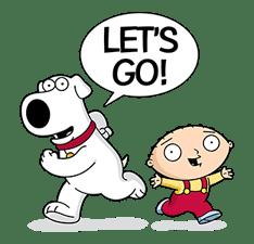 Family Guy sticker #3102739