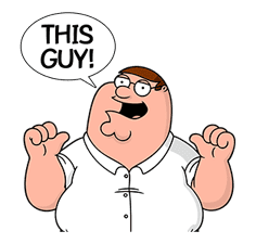 Family Guy sticker #3102745