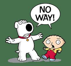 Family Guy sticker #3102773