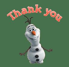 Frozen Animated Stickers sticker #3140475