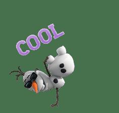 Frozen Animated Stickers sticker #3140497