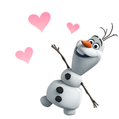 Frozen Animated Stickers