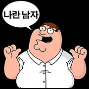 สติ๊กเกอร์ไลน์ Family Guy