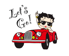 SEXY!Betty Boop sticker #4673186