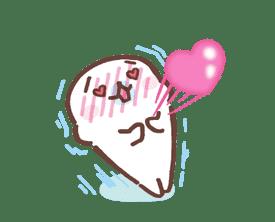 Mamegoma! Pitter-Patter Hearts sticker #4807307