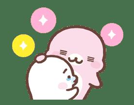 Mamegoma! Pitter-Patter Hearts sticker #4807311