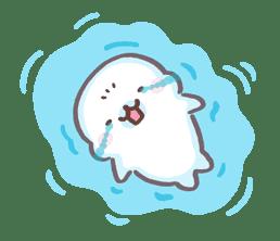Mamegoma! Pitter-Patter Hearts sticker #4807317