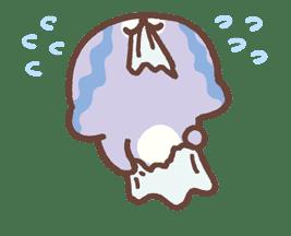 Mamegoma! Pitter-Patter Hearts sticker #4807326