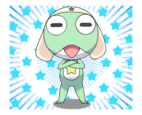 Keroro Animated Stickers sticker #5235820