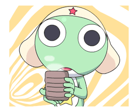 Keroro Animated Stickers sticker #5235824