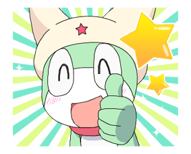 Keroro Animated Stickers sticker #5235830