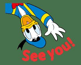 Animated Donald Duck sticker #8344843