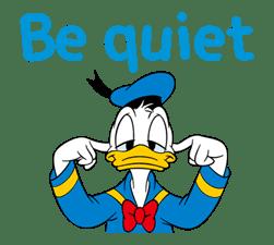 Animated Donald Duck sticker #8344845