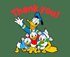 Animated Donald Duck sticker #8344856