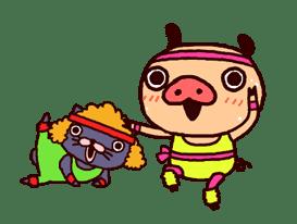 PANPAKA PANTS 5: Talking Mr. Dance Pants sticker #8573555