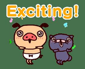 PANPAKA PANTS 5: Talking Mr. Dance Pants sticker #8573556