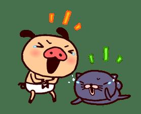 PANPAKA PANTS 5: Talking Mr. Dance Pants sticker #8573558
