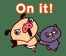 PANPAKA PANTS 5: Talking Mr. Dance Pants sticker #8573559