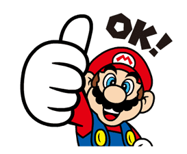 Talking Super Mario Animated Stickers sticker #9714584
