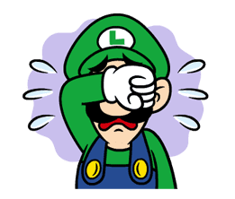 Talking Super Mario Animated Stickers sticker #9714585