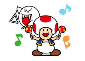 Talking Super Mario Animated Stickers sticker #9714599