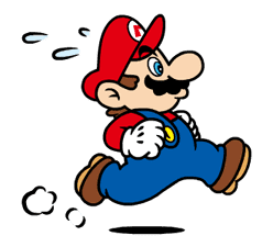 Talking Super Mario Animated Stickers sticker #9714602