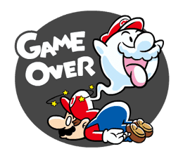 Talking Super Mario Animated Stickers sticker #9714604