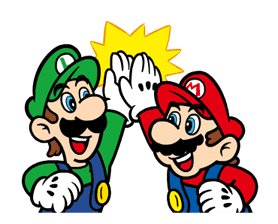 Talking Super Mario Animated Stickers sticker #9714607