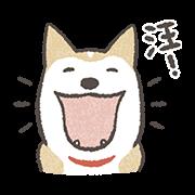 สติ๊กเกอร์ไลน์ Shiba Inu (Shiba-Dog) Animated Stickers