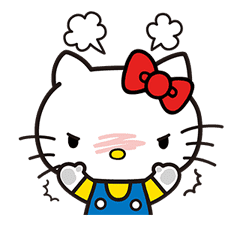 Hello Kitty Pouncing Pop-Up Stickers sticker #11559973