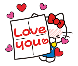 Hello Kitty Pouncing Pop-Up Stickers sticker #11559983