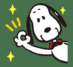 SNOOPY Pop-Up Stickers sticker #12036265