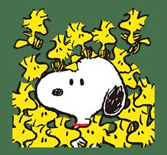 SNOOPY Pop-Up Stickers sticker #12036269