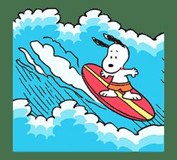 SNOOPY Pop-Up Stickers sticker #12036270