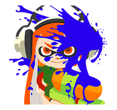 Splatoon: Inkling Injection sticker #11921470