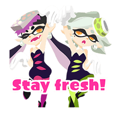 Splatoon: Inkling Injection sticker #11921474