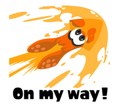Splatoon: Inkling Injection sticker #11921477