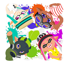 Splatoon: Inkling Injection sticker #11921481