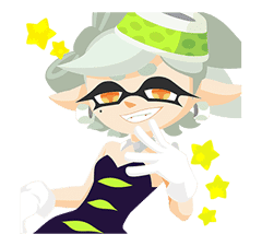 Splatoon: Inkling Injection sticker #11921484