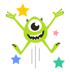 Monsters, Inc. Pop-Up Stickers sticker #13041784