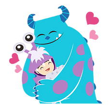 Monsters, Inc. Pop-Up Stickers sticker #13041786